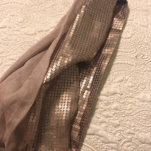 limited edition Accessories - Limited Edition Sequin Scarf NWOT